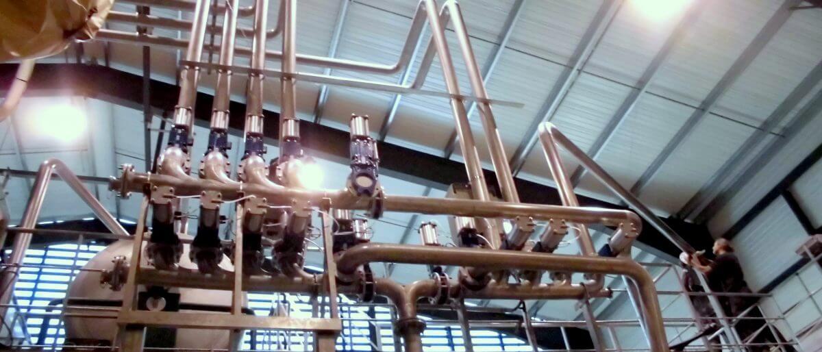 Permalien vers:Tuyauterie inox industrielle