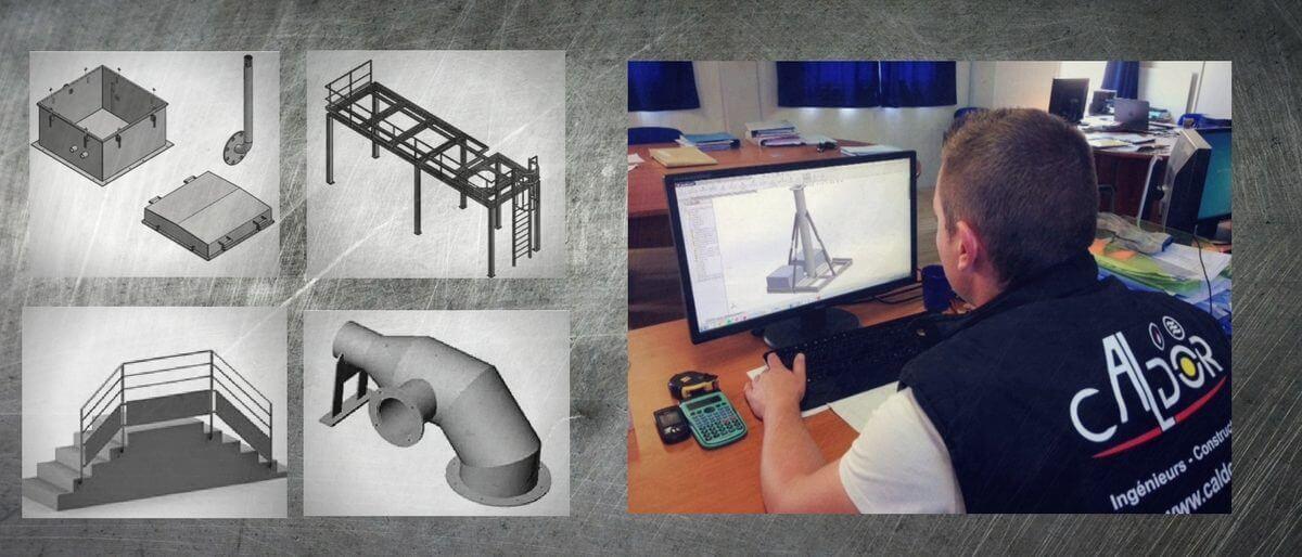 Permalien vers:Bureau d'études 3D, conception CAO/ DAO