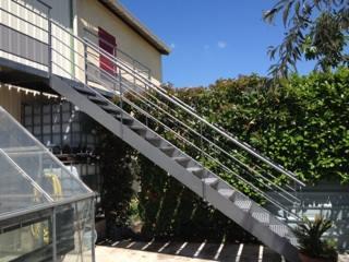 Réalisation d'escaliers métalliques sur mesure