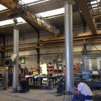 conduit cheminée realisation chaufferie vapeur