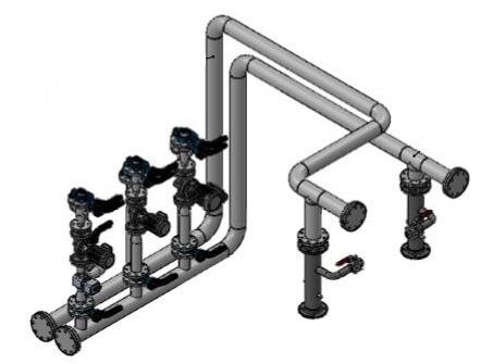 Conception de tuyauteries industrielles