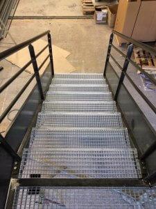 escalier acier aix
