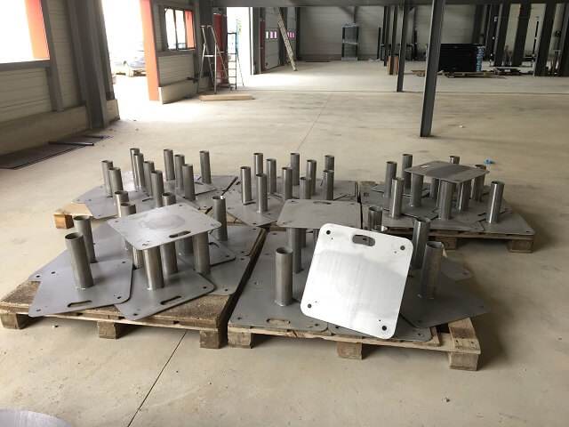50 supports platines carrées