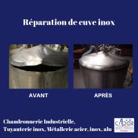 cuve inox reparation caldor